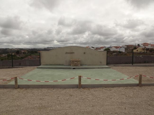 Área de Serviço para autocaravanas de Santa Susana - Sintra DSCF2527