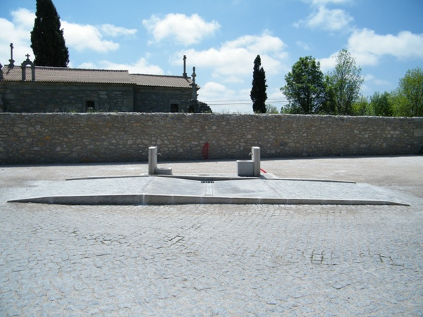 Área de Serviço para autocaravanas de Aldeia da Ponte - Sabugal DSCF4210
