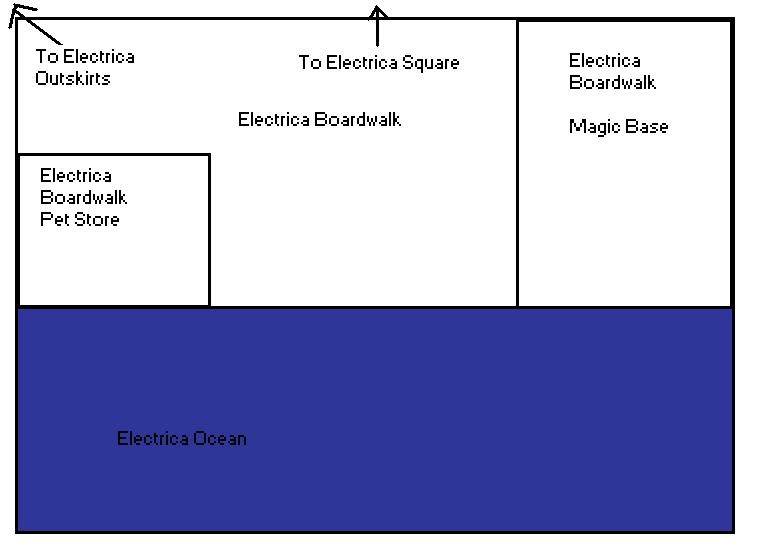 Electrica City Map ElectricaBoardwalk
