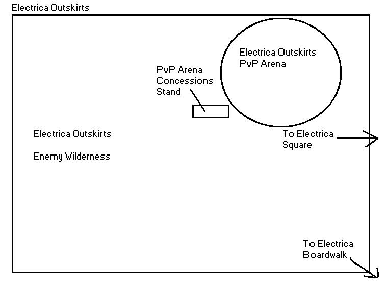Electrica City Map ElectricaOutskirts