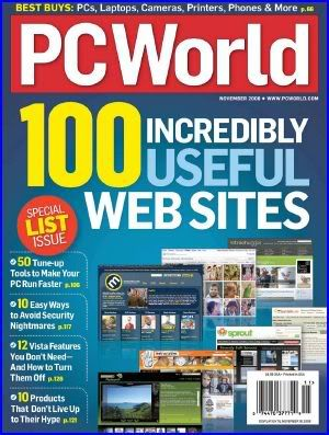PC World - November 2008 PCWorld1108