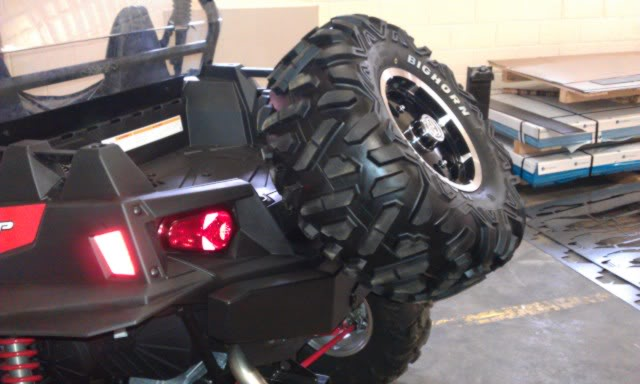 RZR XP900 Extreme Rear Bumper by Extreme Metal Products IMAG0102