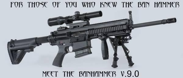 ROFL ROFL BANHAMMER V 9.0 Banhammer
