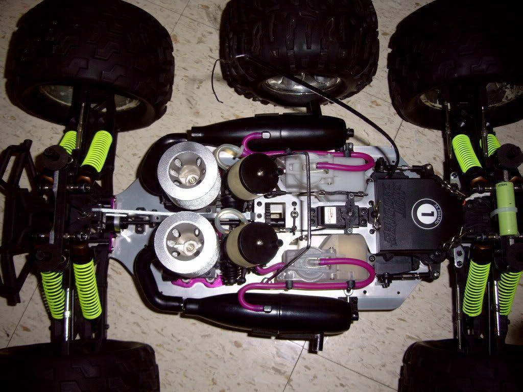R/C  Team losi / lightning GTX2  twin engine Picture254