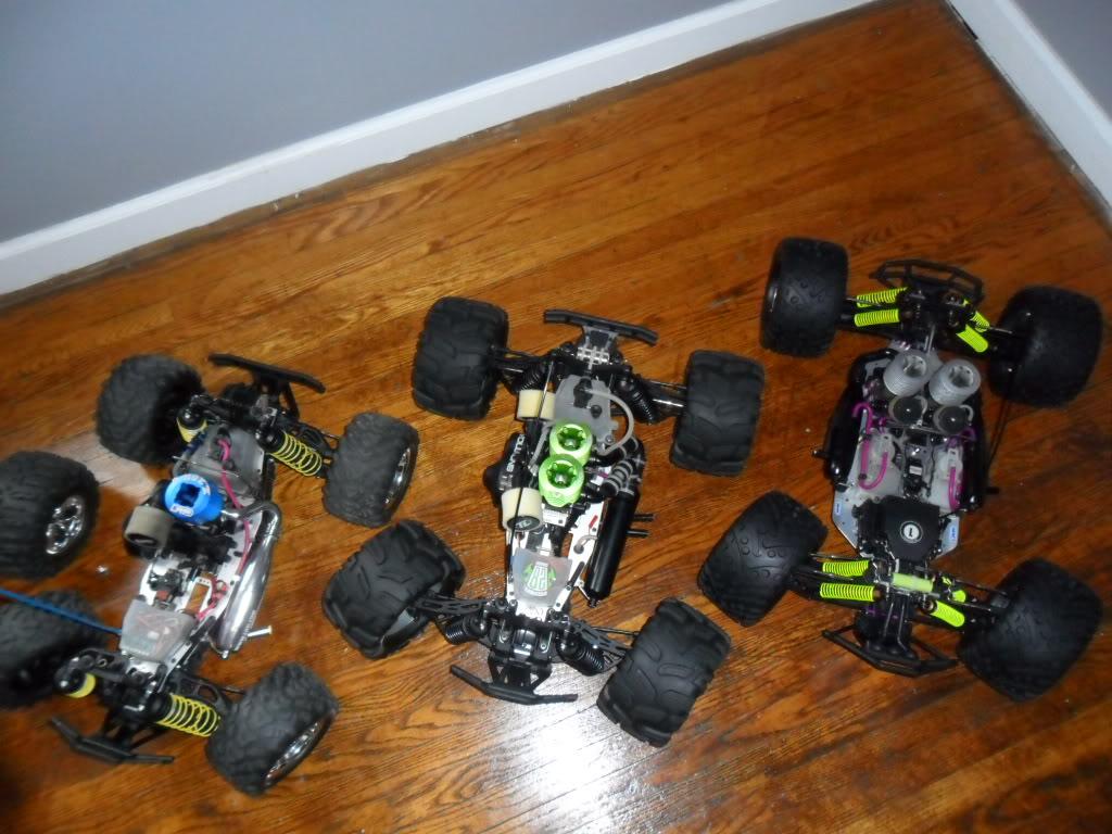 R/C  Team losi / lightning GTX2  twin engine Car261