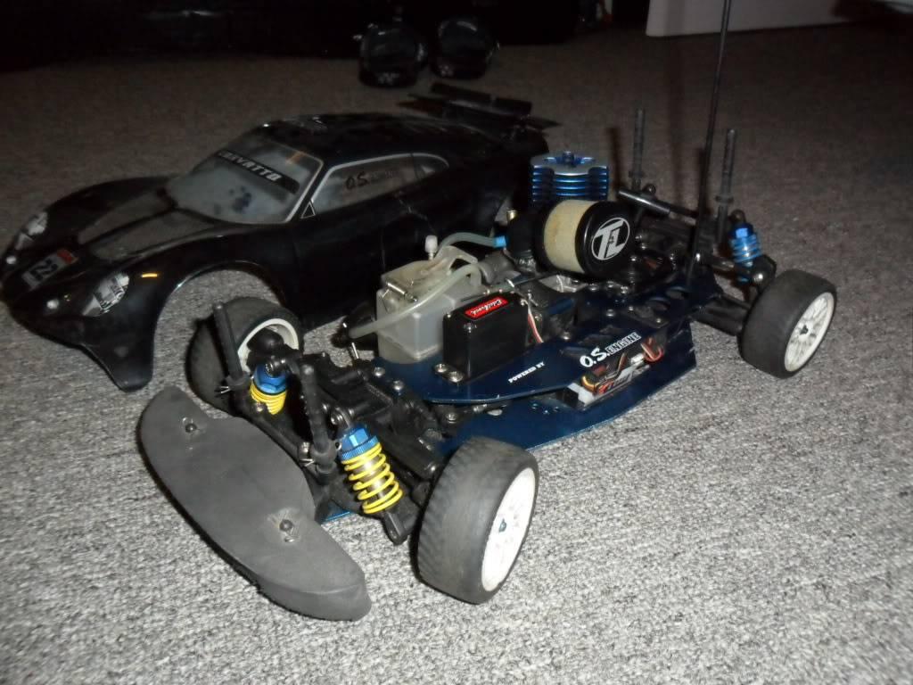R/C  Team losi / lightning GTX2  twin engine Car270