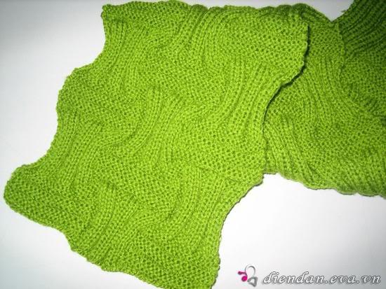 các sis cho em hỏi về đan khăn 3074962f392af358