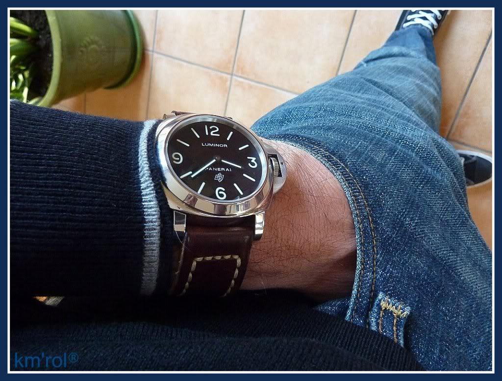 Le wrist-pocket-shoe wear topic multi-marques [tome I] PAM0003-1