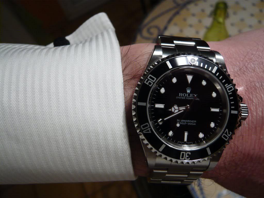 La montre qui va pour toutes les occasions... Subboutdemancnoir