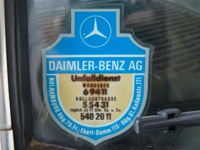 W123 250 1981 - R$ 17.999,00 (VENDIDO) Mercedesadesivoconcession