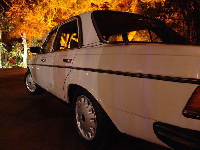 W123 250 1981 - R$ 17.999,00 (VENDIDO) MercedeslatesqNoite
