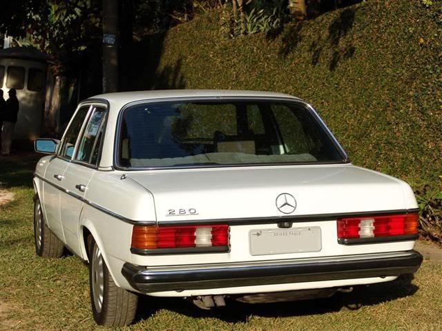 W123 250 1981 - R$ 17.999,00 (VENDIDO) Mercedestraslatesq
