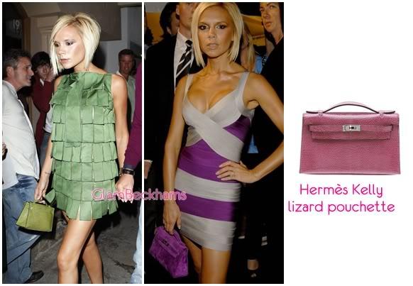 Victoria's Bags HermeskellyLizardPouchette