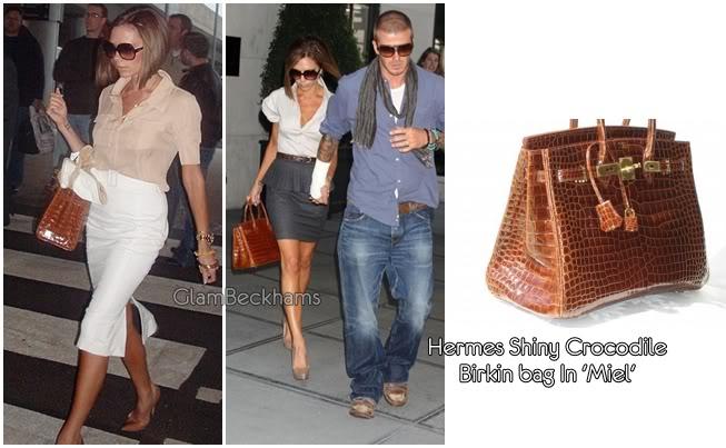 Victoria's Bags Hermesmarroncocodrile