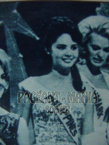 Miss Philippines Universe 1963: Lalaine Betia Bennett (MU 63' 3rd runner up) - Page 2 1-17