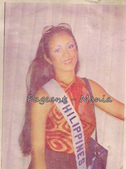 Bb Pilipinas Universe 1974: Guadalupe Sanchez (MU 74' Semifinalist) Guada