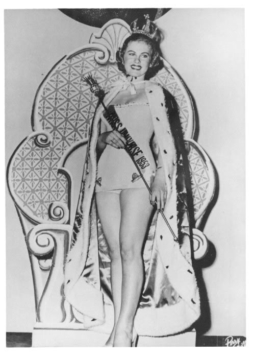 your favorite miss universe in the 50's Armi
