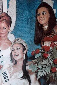 your favorite miss universe in the 60's? G14