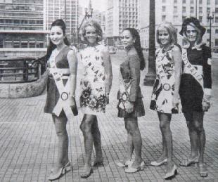your favorite miss universe in the 60's? G16