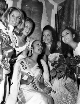 your favorite miss universe in the 60's? G28