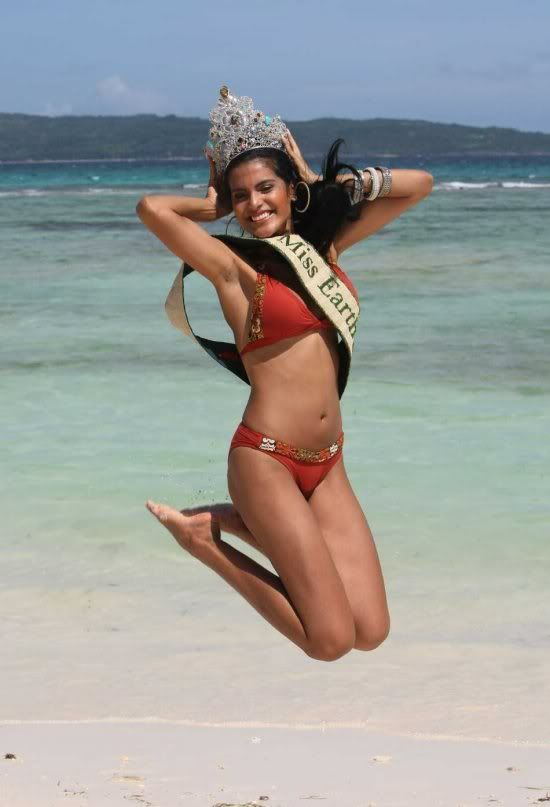 Miss Earth titleholder for the 1st decade... Miss-earth-20095