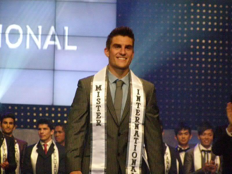 Mister International 2010: Ryan Terry (Great Britain)