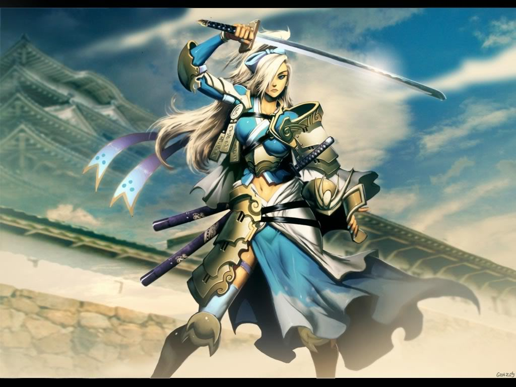 Tai Yuudai [Vizard] L5R_Crane_Samurai_by_GENZOMAN