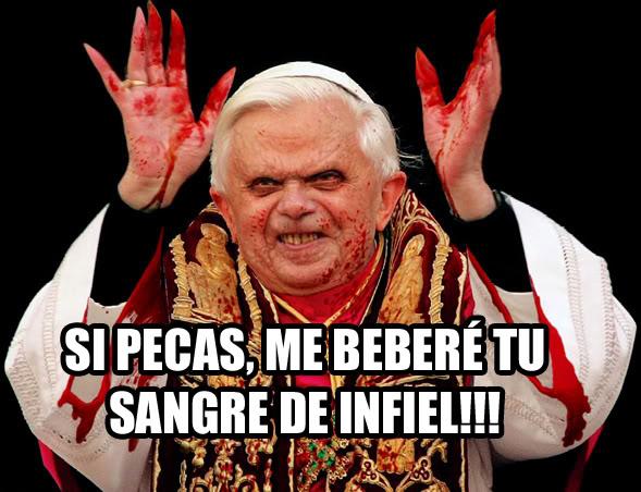 El post épico de las imagenes! Ratzinger