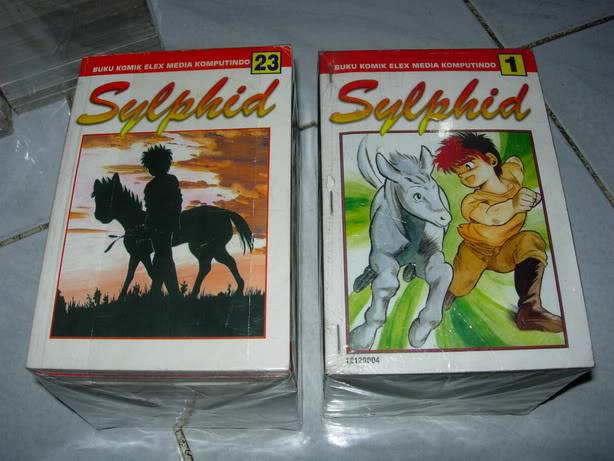 [share] manga yang sering dibaca jaman masih bocah Sylphid
