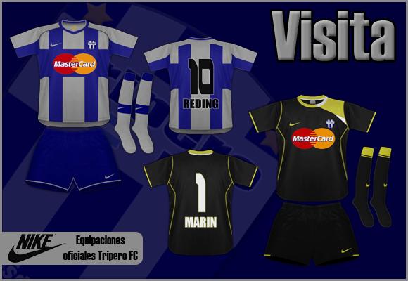Uniformes - Tripero F. C. Cuadrovisita-1