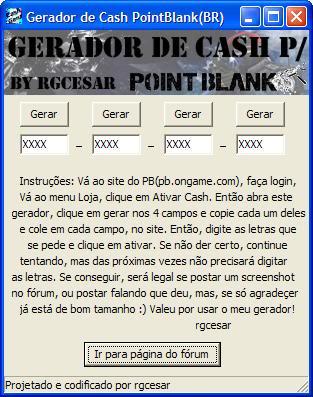 Gerador de Cash Print1