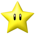 New Super Mario Bross Items NewSuperMarioBros-Star