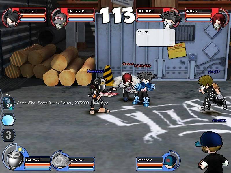 DEMOKING exo glitch RumbleFighter_12072008-184619