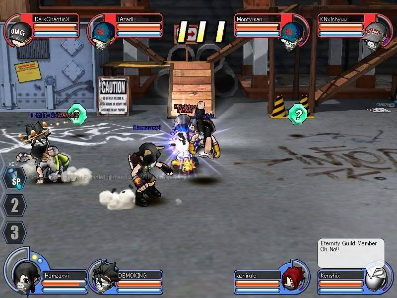 Azad exo lobby glitch RumbleFighter_12252008-151726