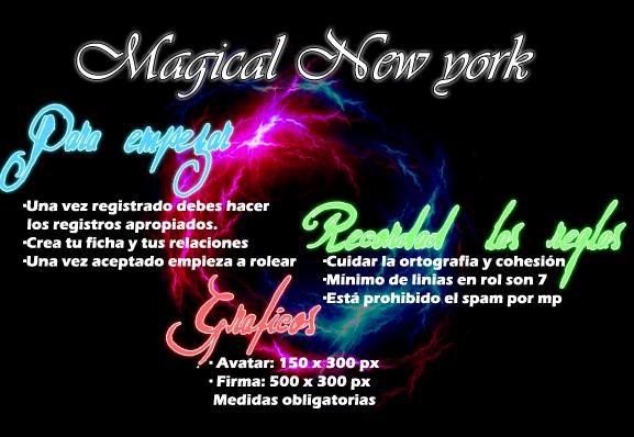 Foro gratis : Magical New World Normas