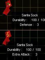 Santa Sock Image . Asd