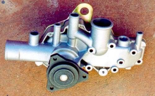 Différence pompe a eau premier et deuxième modèle POMP001