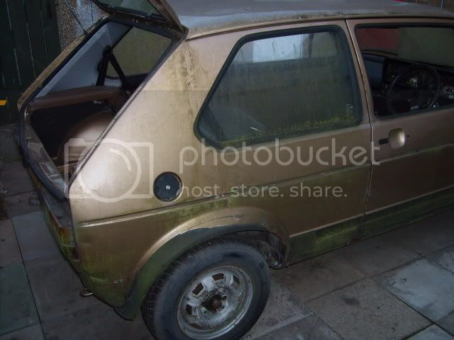 NEW PROJECT - mk1 Golf Driver Gold2ndOct019