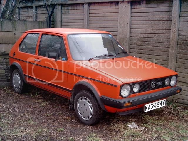 how did your car start life, and how they looking now? Golf024-1