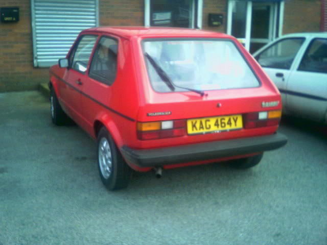 Golf 1.3 Driver......Best Standard mk1 Golf @ Elsecar 2008 Kag464y13