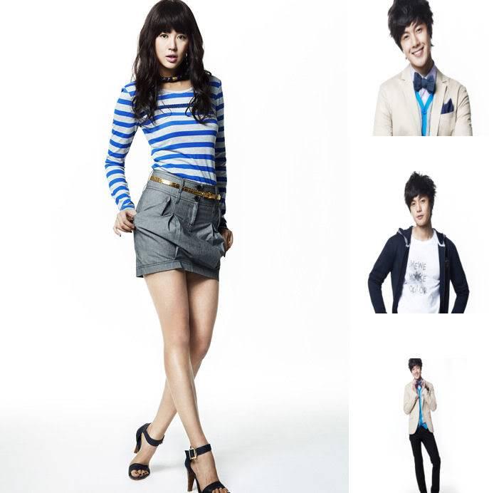 Kim Hyun Joong y Yoon Eun Hye pasan para Basic House YEHKJH001