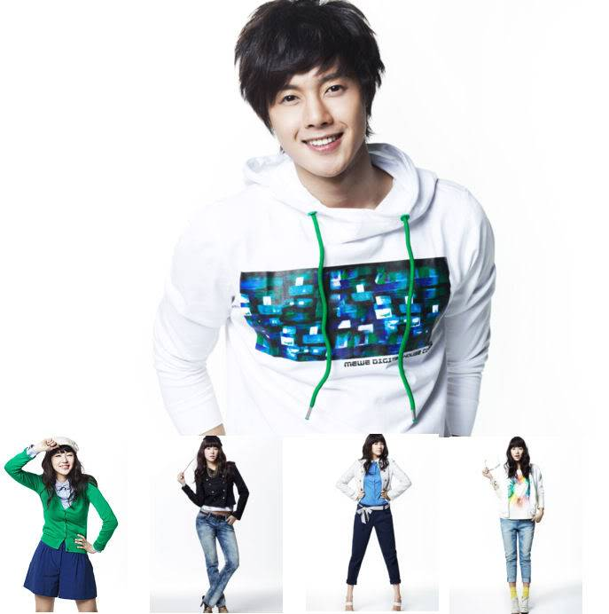 Kim Hyun Joong y Yoon Eun Hye pasan para Basic House YEHKJH002