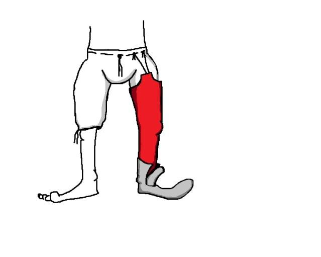 Medieval Boxers & Hose! Braiseshose