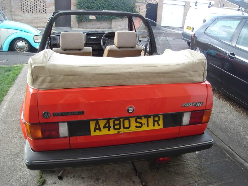 MK1 golf cabby ..now painted.. HugoandBeryl213