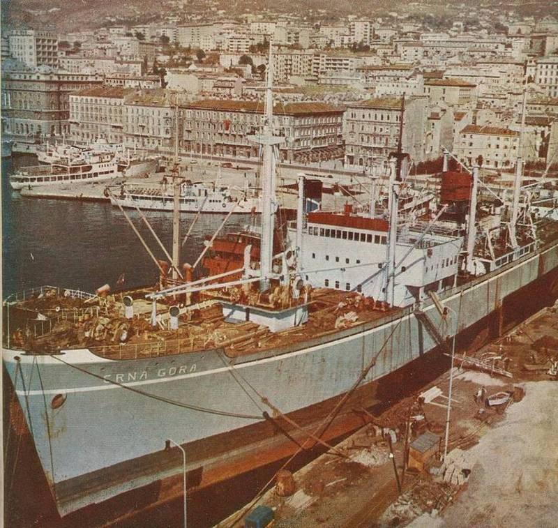 Crna Gora (1951) CrnaGora1951Rijekakasne50-e
