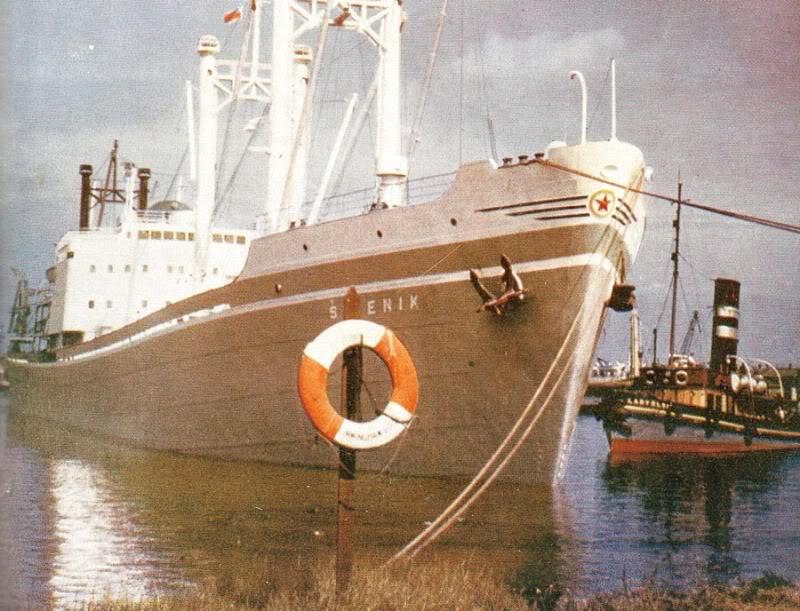Šibenik (1957) Ibenik1957Immingham50e