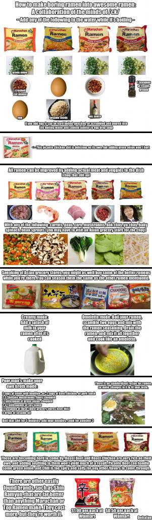 Ramen Noodle Tricks Ramen