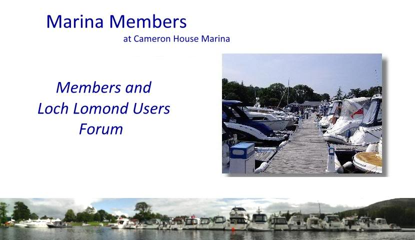Cameron House Marina Members' Forum