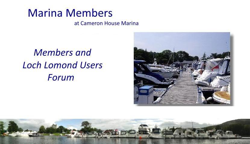 Cameron House Marina Members' Forum