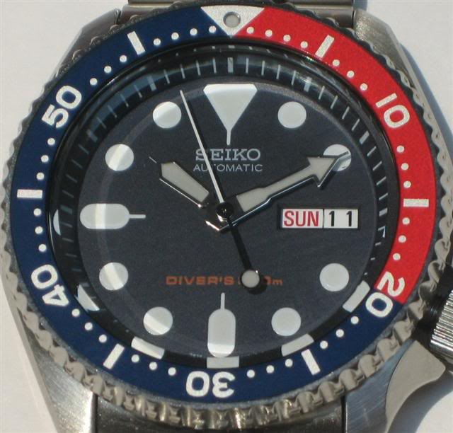How about some dive watches? ..... SNK009FaceSmall